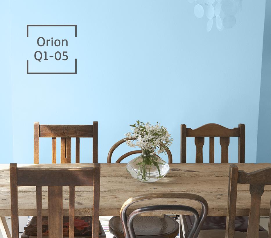 Una excelente combinación de color en tu hogar.