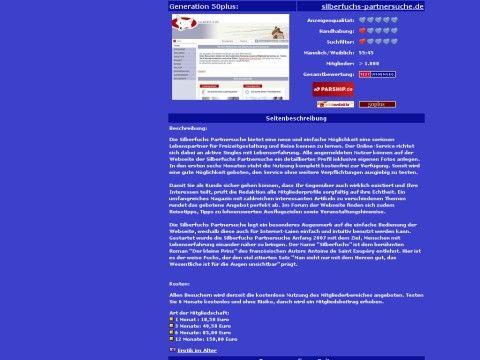 silberfuchs-partnersuche.singelboersen-test.de Webscanpro - Kostenloser Webseitencheck.