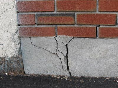 Cracked Foundation Due To Water Damage Is A Common Household Problem. For Do  It Yourself