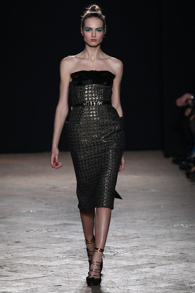 Aquilano.Rimondi RTW Fall 2013 - Slideshow - Runway, Fashion Week, Reviews and Slideshows - WWD.com