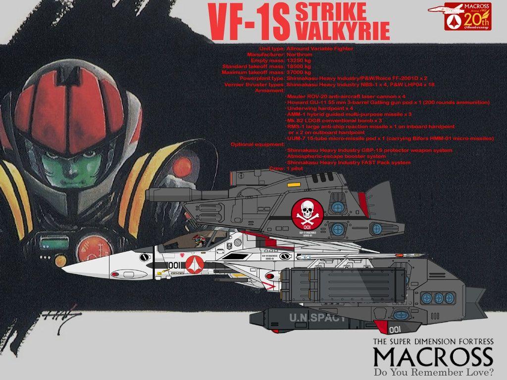 Macross - Stryke Valkyrie