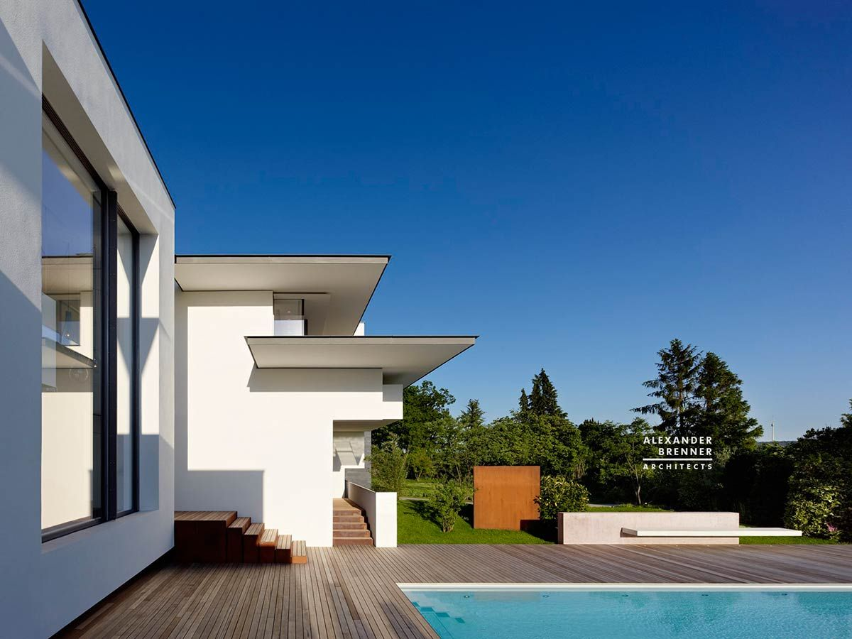 Vista House, Stuttgart / Alexander Brenner Architects | Life as an ...