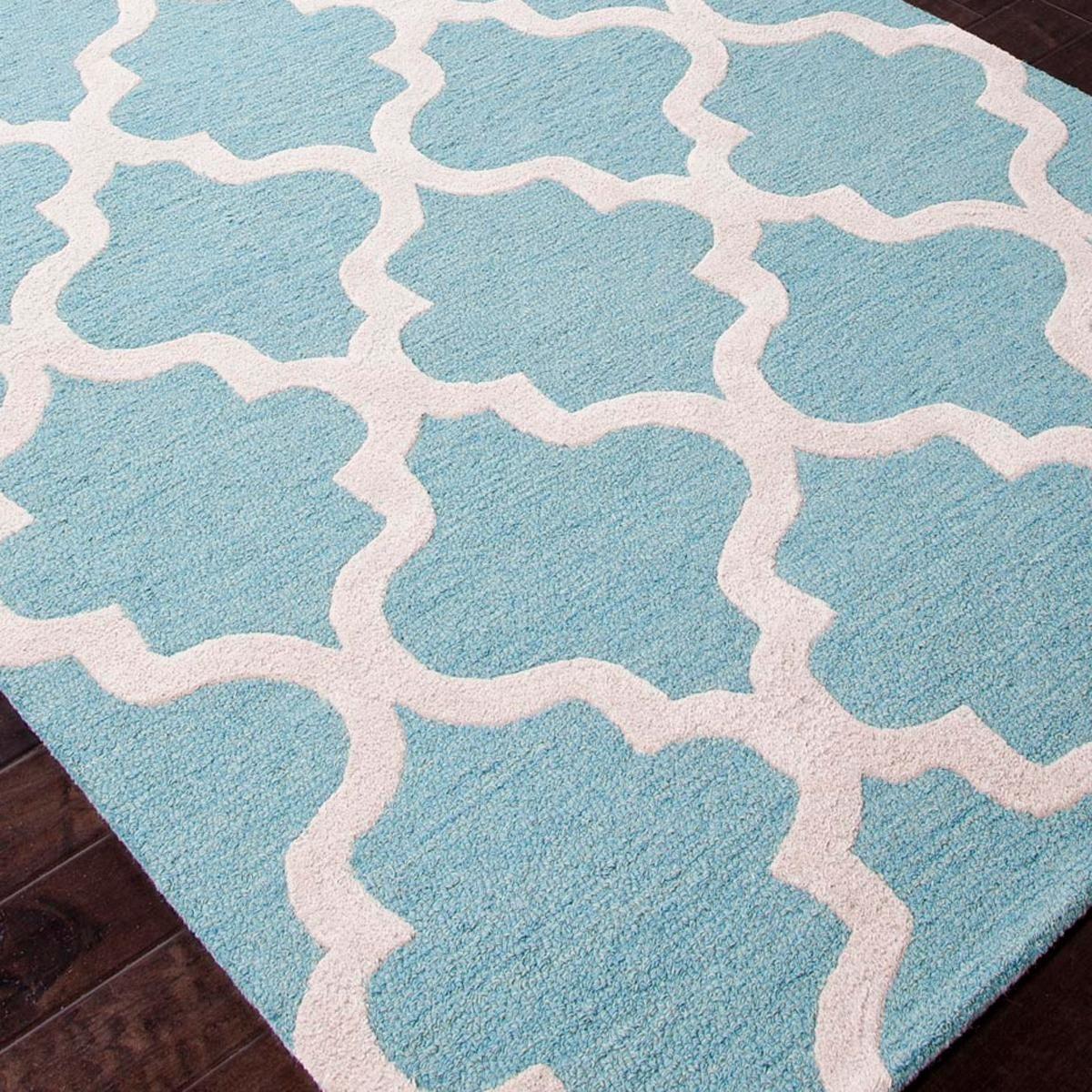 Tudor Window Grill Plush Wool Rug | Wool rug, Plush and Window