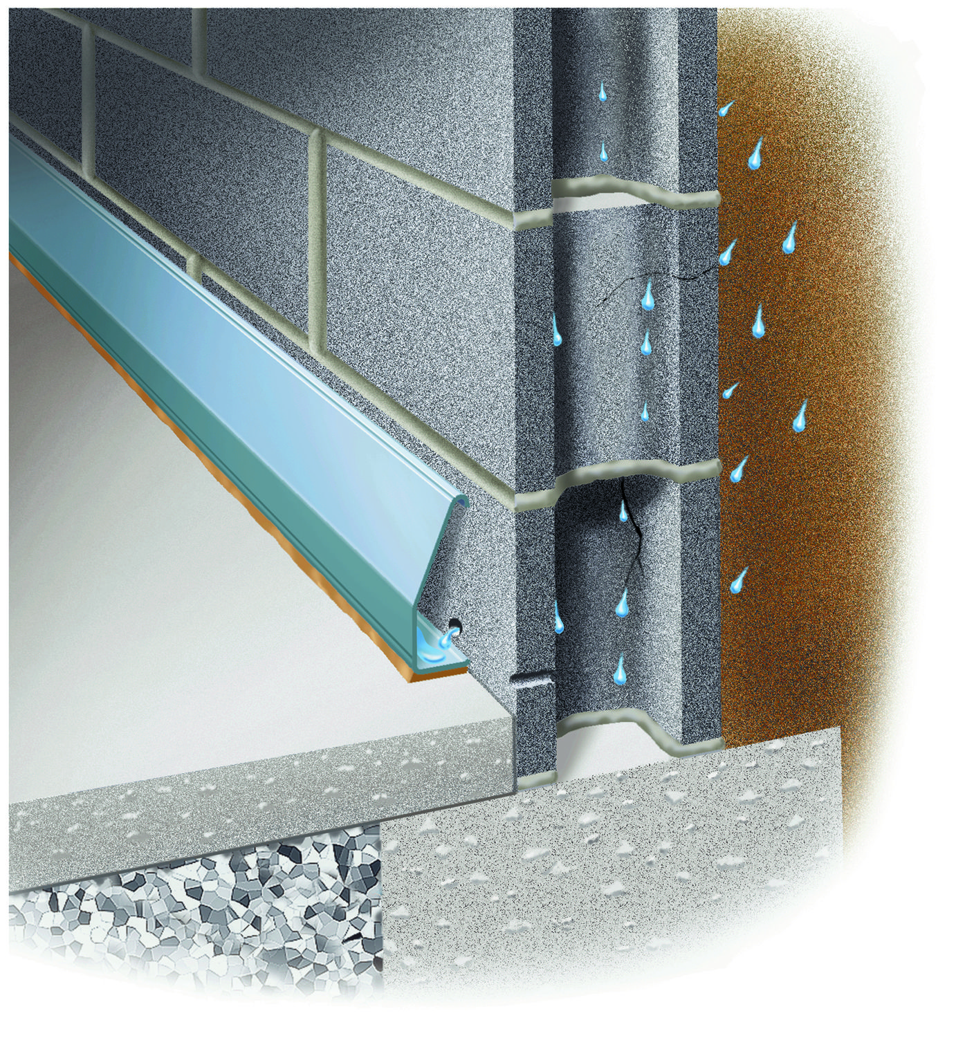 Basement Waterproofing Products For Diy Homeowners And Pro Foundation Systems For Contractors Since 1965 We Waterproofing Basement Diy Basement Basement Walls