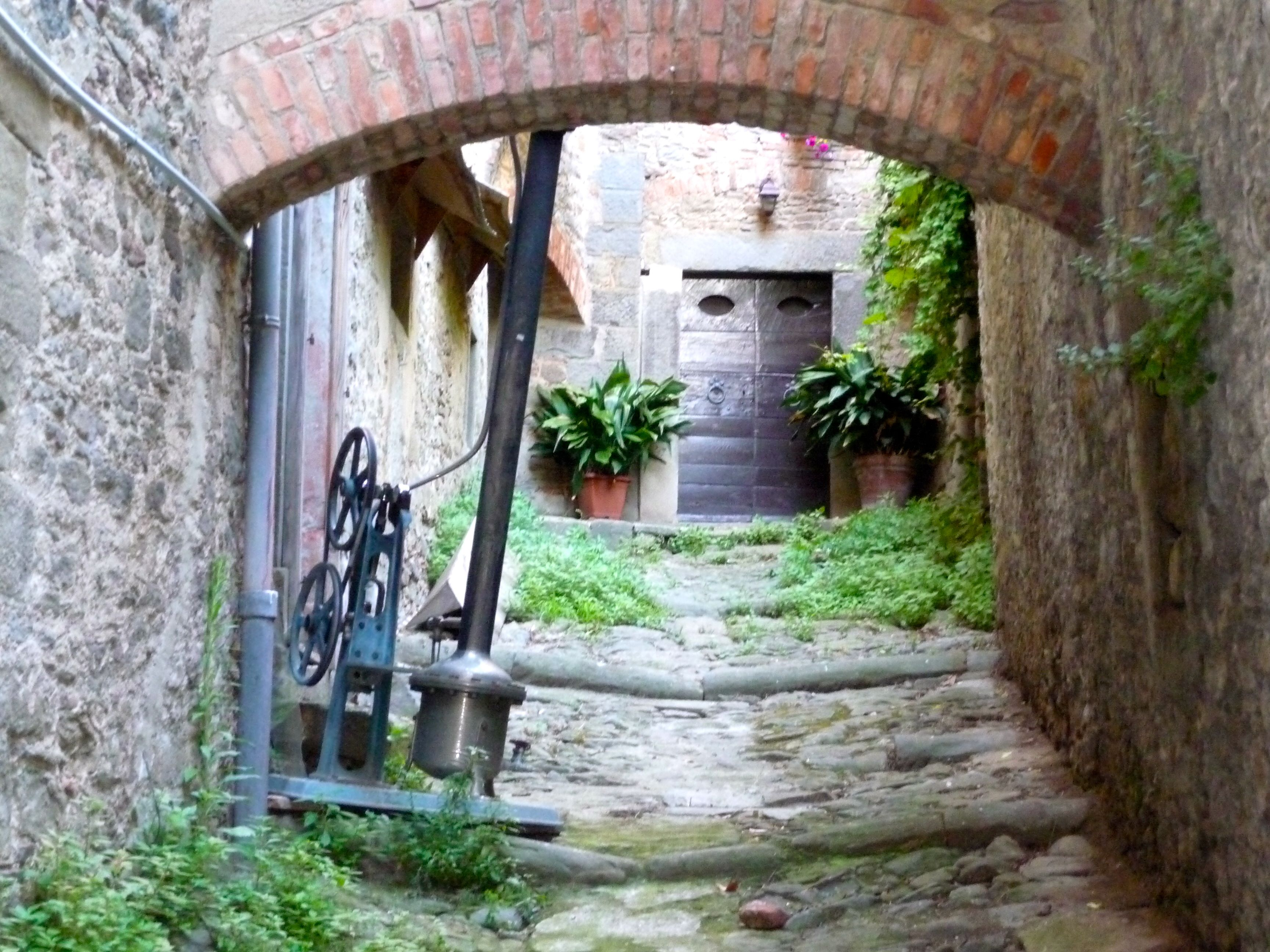 My most favorite photo from our honeymoon! Taken in Cortona, Italy...a medieval village in the heart of Tuscan hills. Love.