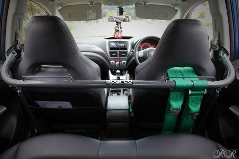 Sparco Harness Bar Gray Subaru WRX / STI 2008-2013 Check out #Rvinyl
