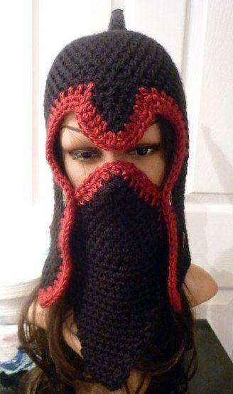 World of Warcraft Crochet Helmet Hat   Crochet and Knitting 1 ...