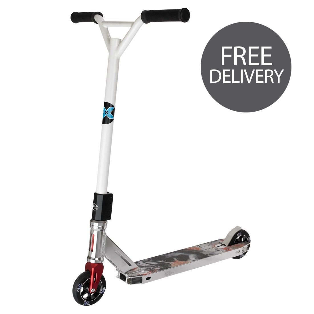 I just bought a Micro MX 20 Stunt Scooter from Micro Scooters.co ...