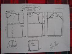 Casaqueto Estilo Chanel | molde, corte e costura – Marlene Mukai