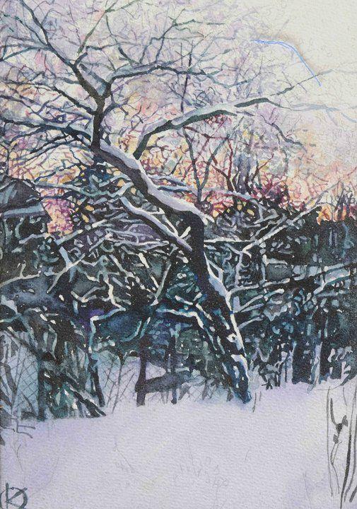 Oleg Kozak Watercolor Aquarelle Art Et Peintre