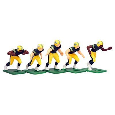 NFL Green Bay Packers Tudor Games Home Uniform Electric Football Action  Figure Set 028a44ab1