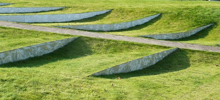 Landform Charles Jenks Garden Sculptured Form Pinterest - land form