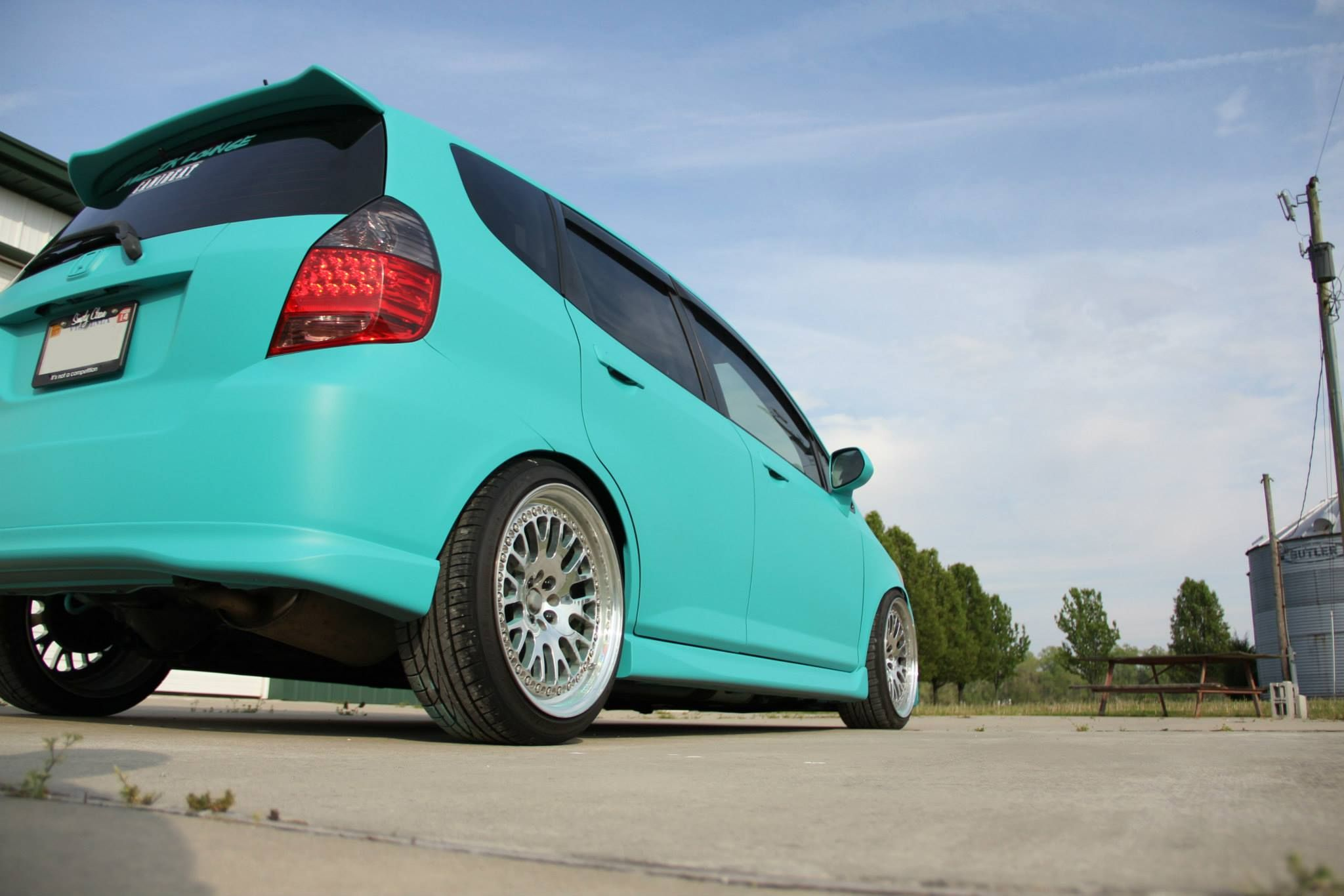 Cute color for my honda fit i think yes