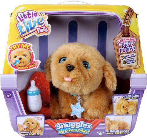 Little Live Pets Sleepy Puppy, perro interactivo