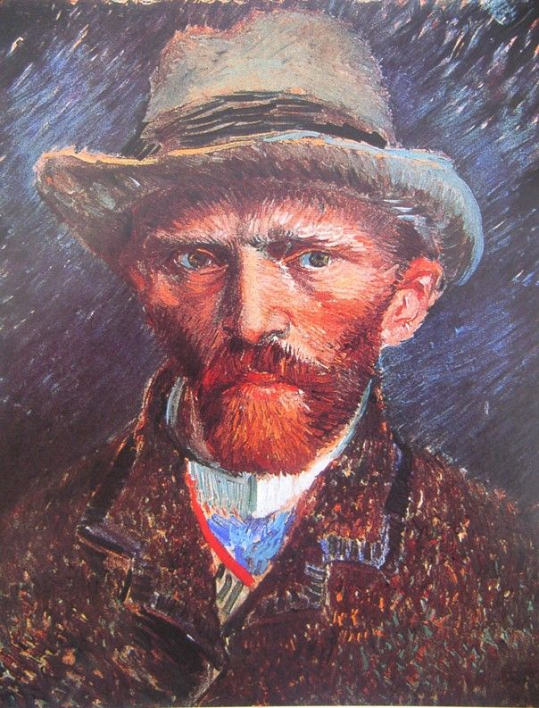 vincent van gogh zelfportret met hoed