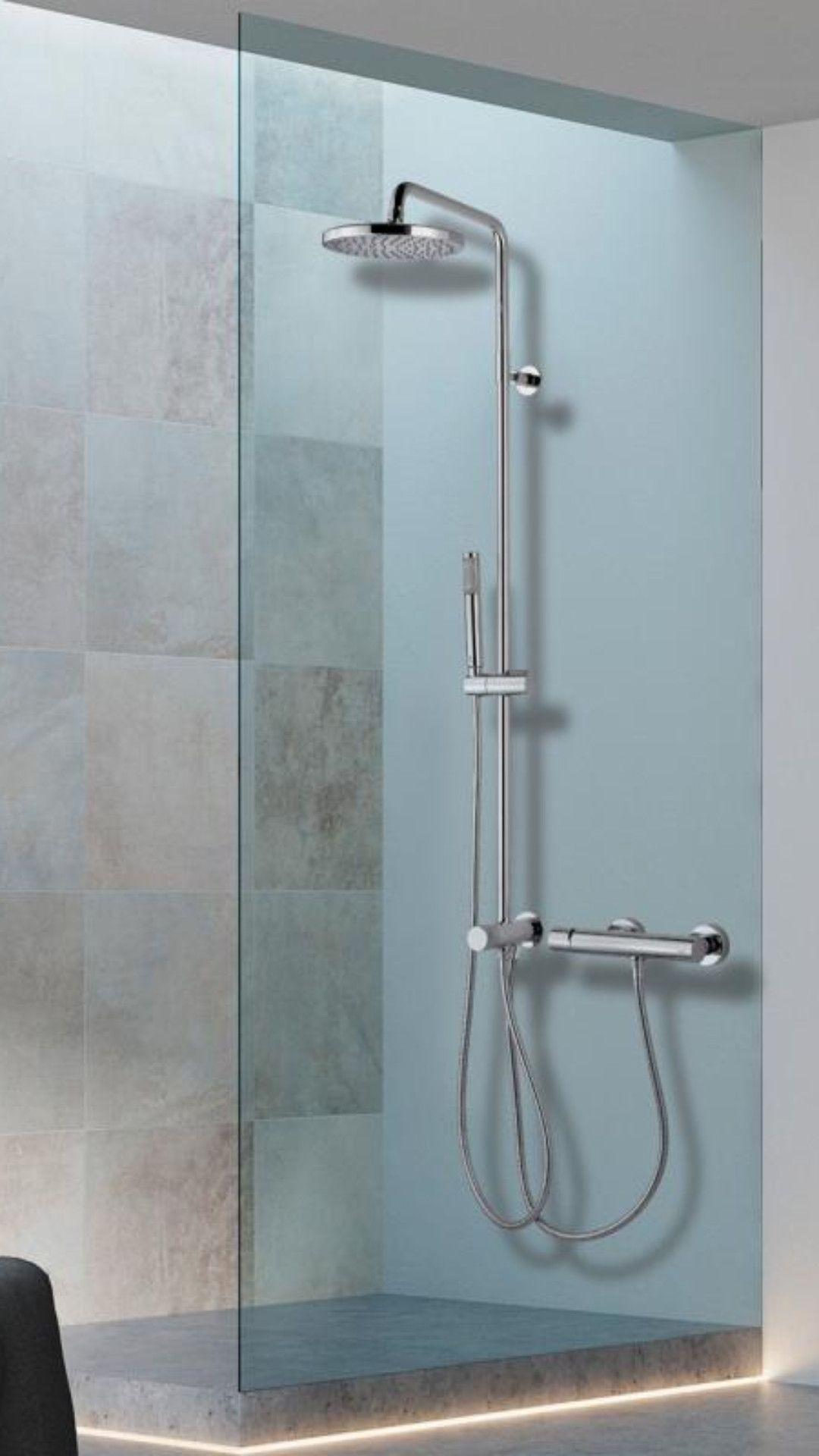 Bossini K Oki Geniessen Sie Ihre Dusche Stilvoll Und Mit Allem Komfort Dank Des Duschsystems Mit Umstellung Grosser Kopfbrause U Duschsysteme Dusche Kopfbrause