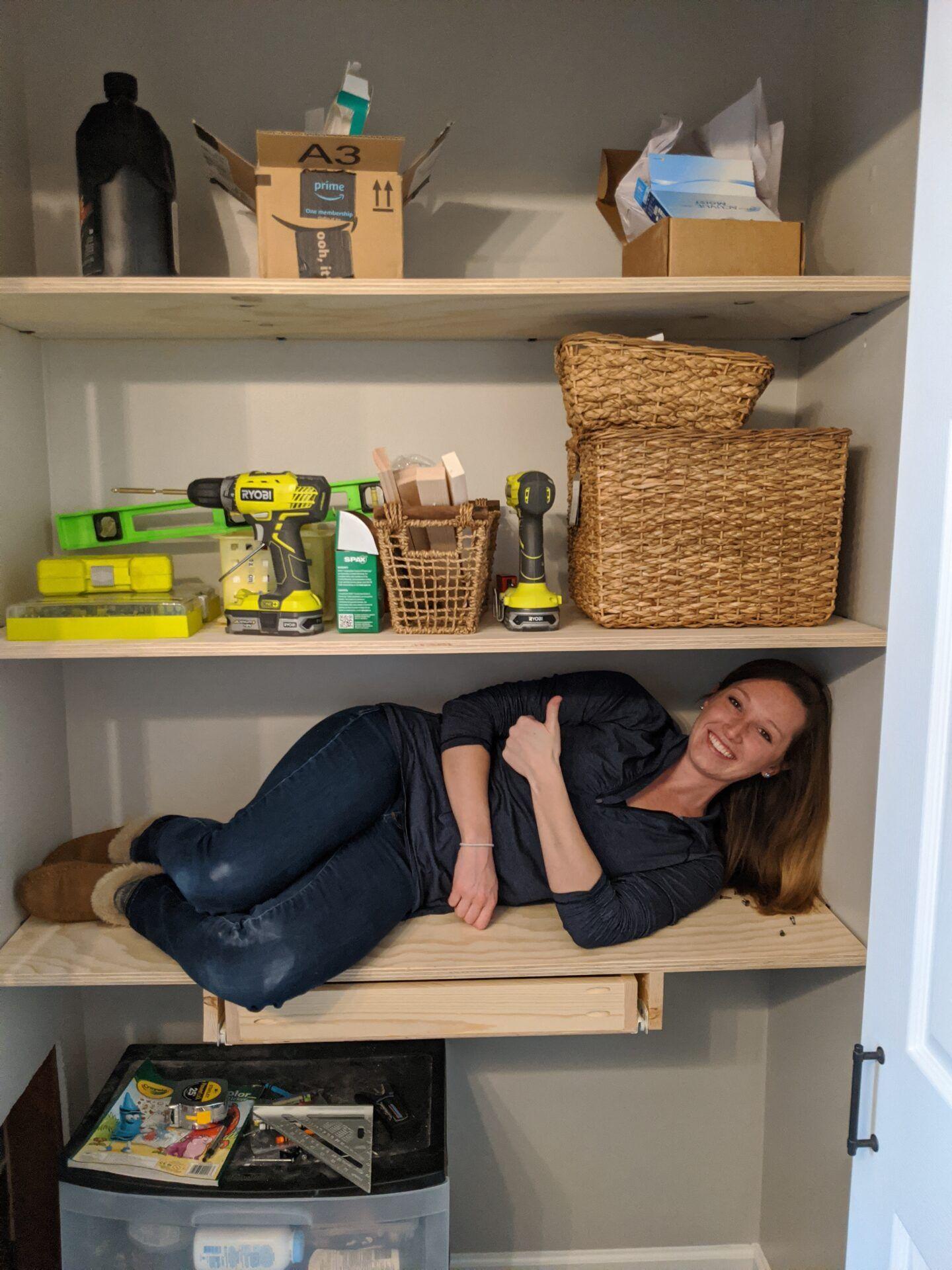 Diy closet organizer easy shelves to organize your