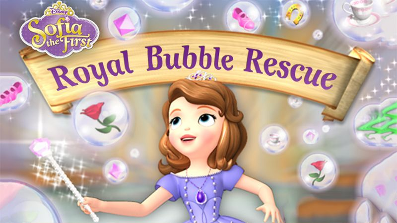 Sofia The First Royal Bubble Rescue Fun Free Online Games Sofia The First Bubbles
