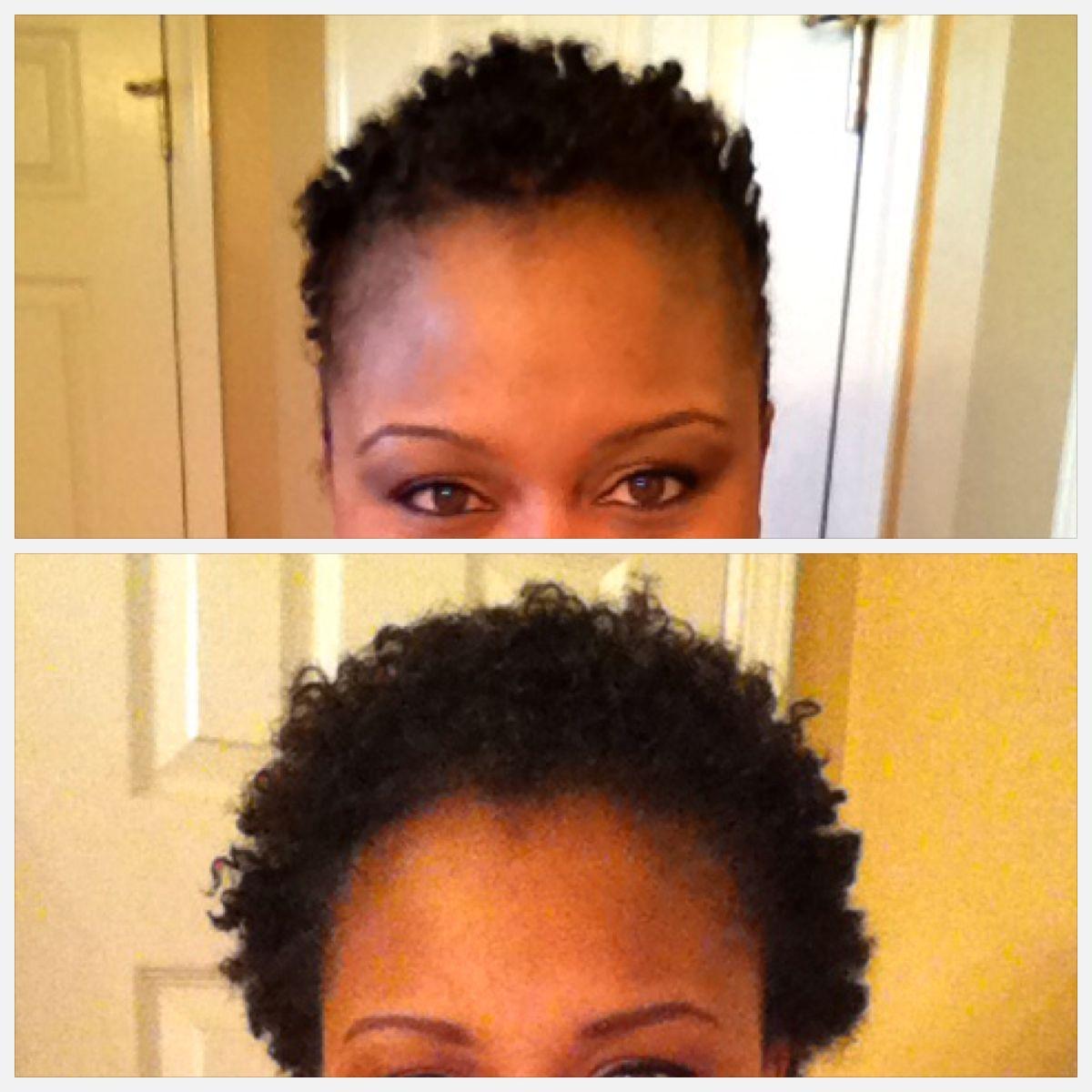 2 months post big chop Goddess hairstyles, Natural hair