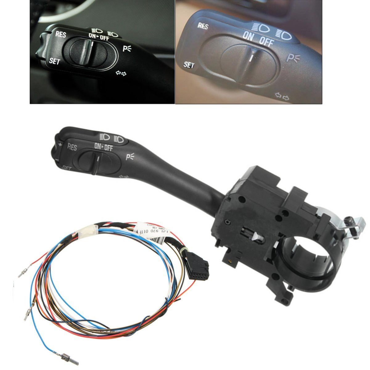 New Cruise Control System Indicator Stalk Switch Amp Harness Wire For Vw Golf Gti Bora Mk4 18g 953 513 A 1j1 970 011 F Cruise Control Golf Gti Control System