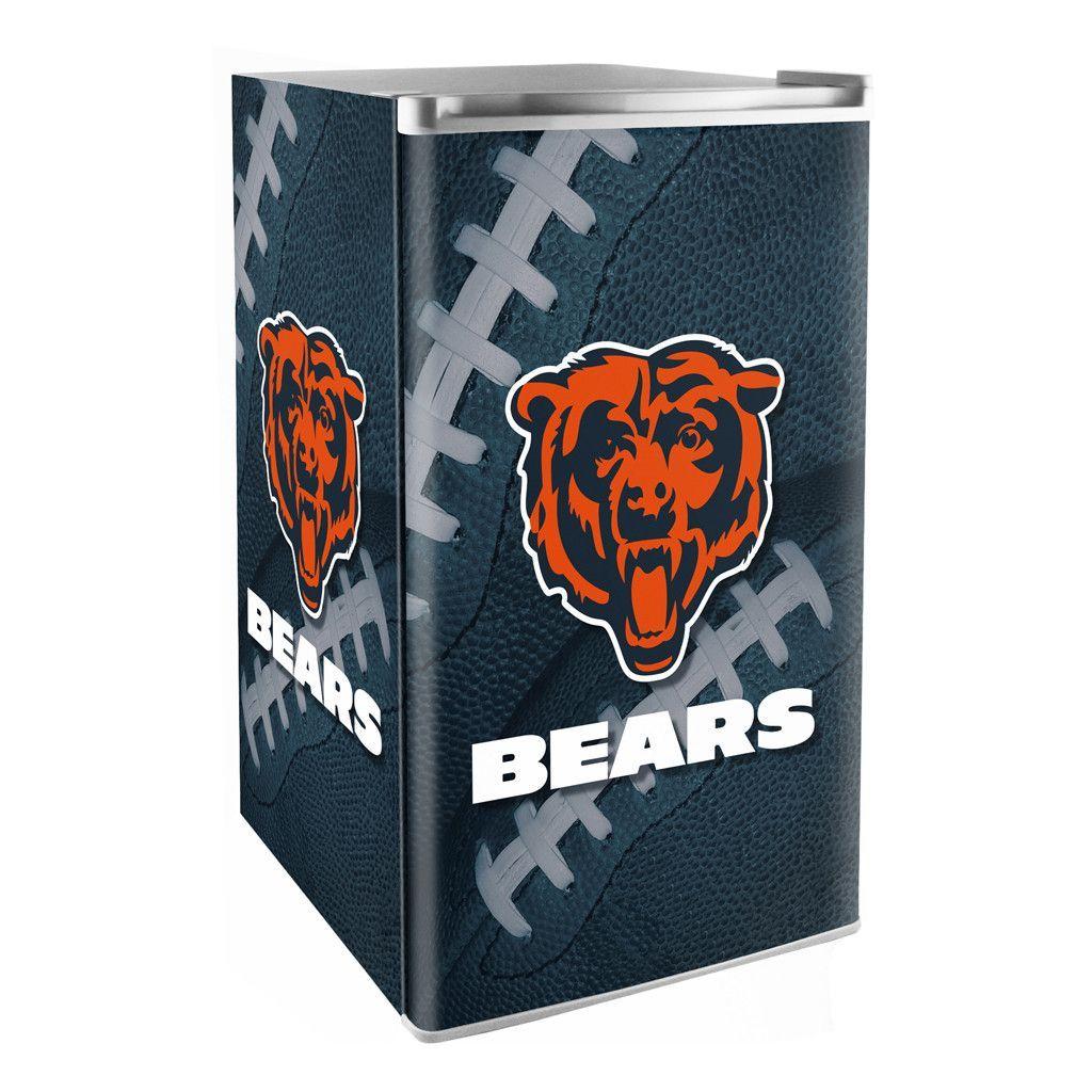 Chicago Bears 3.2 Cubic Feet MiniFridge Chicago bears