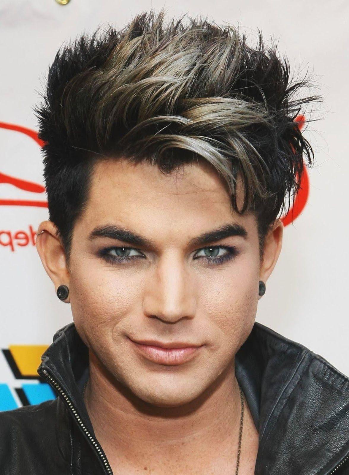 Hair Dye Styles Men Done Beautifully Adam Lambert It S A