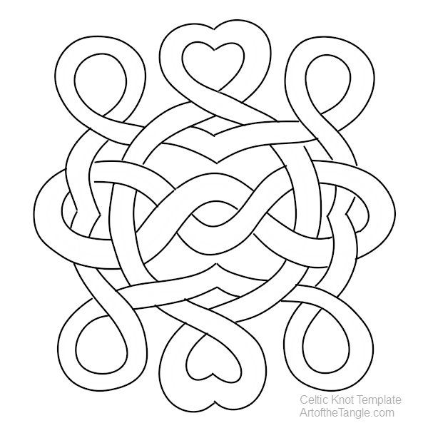learn to draw freeform celtic knots
