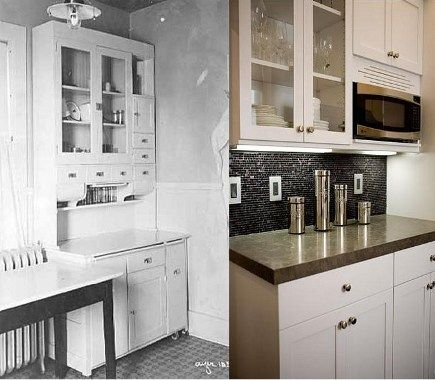 similiar kitchen cabinet style from the 1920 keywords