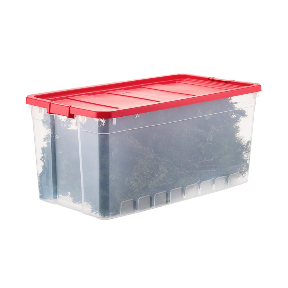 Sterilite Tree Storage Box The Container Store Storage Holiday Storage Christmas Tree Storage