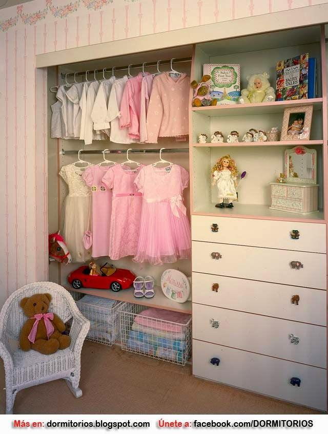 Closet para ni os closet para ni as habitaciones de bebe - Armarios para habitacion nina ...