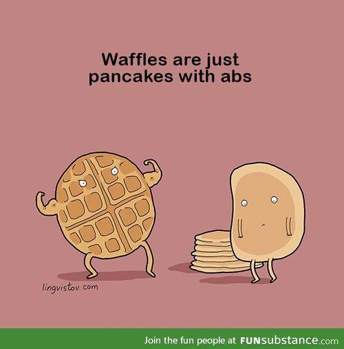 Pancakes & waffles - FunSubstance