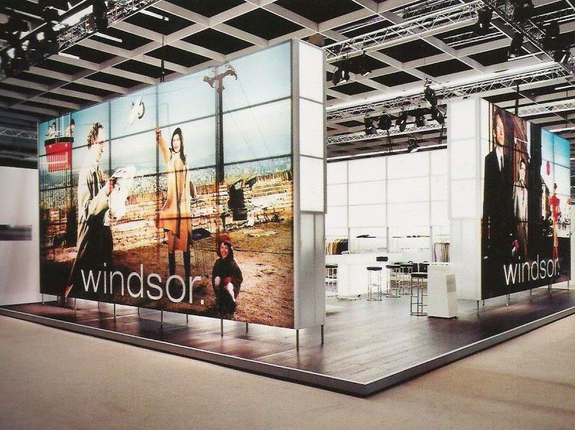 Fabric Exhibition Stand Job : Stand windsor exhibit graphics fabric booths