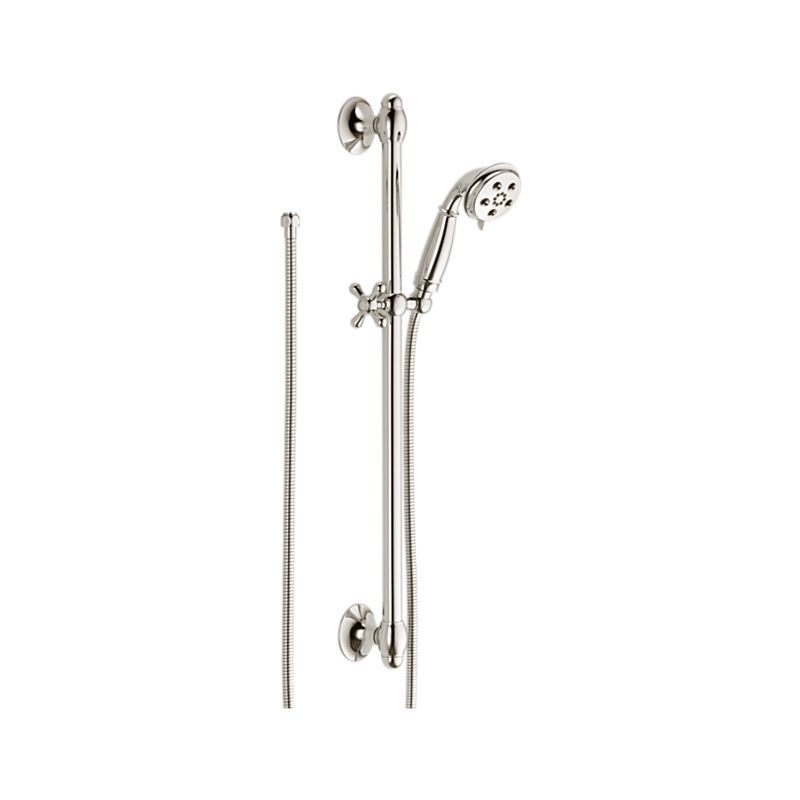 51308-PN Traditional Slide Bar Hand Shower : Bath Products : Delta ...