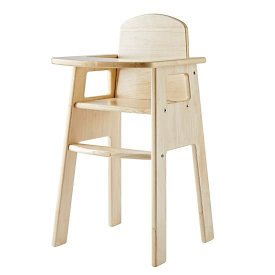 Land Of Nod High Chair Doll Dinette Chairs With Wheels Every Little Will Look Forward To Mealtime When They Re Sitting In Our It S Made From Solid Wood And Coordinates Nicely Your