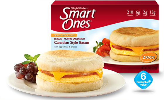 Weight Watchers® Smart Ones® Canadian Style Bacon English Muffin Sandwich