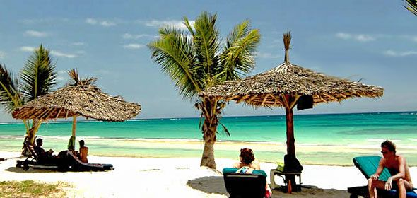 Beach Resort Relaxation