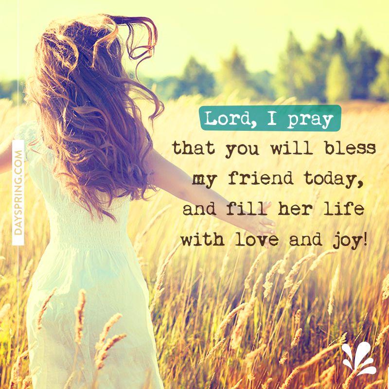 Ecards Prayer for my friend, Birthday prayer for friend