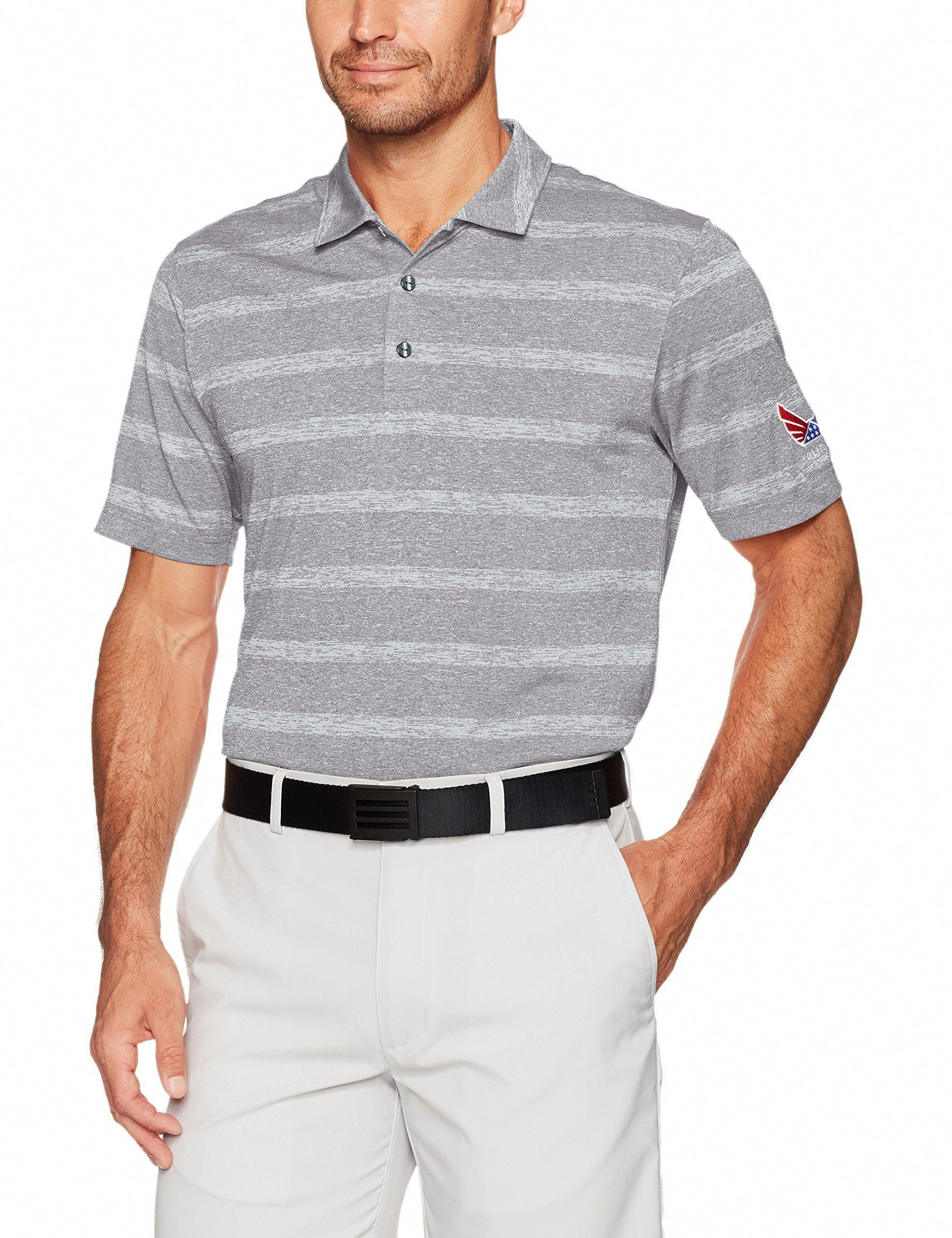 c6b735abc Men Golf Clothing     Puma Golf 2017 Mens Volition Stripe Polo Quiet Shade  XLarge     You could get additional information at the image web link.