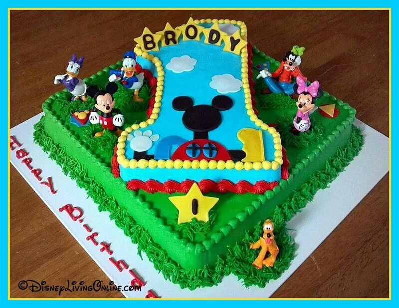 Images Of Mickey Mouse Clubhouse Birthday Cakes : Share
