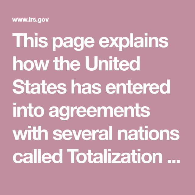 This Page Explains How The United States Has Entered Into Agreements