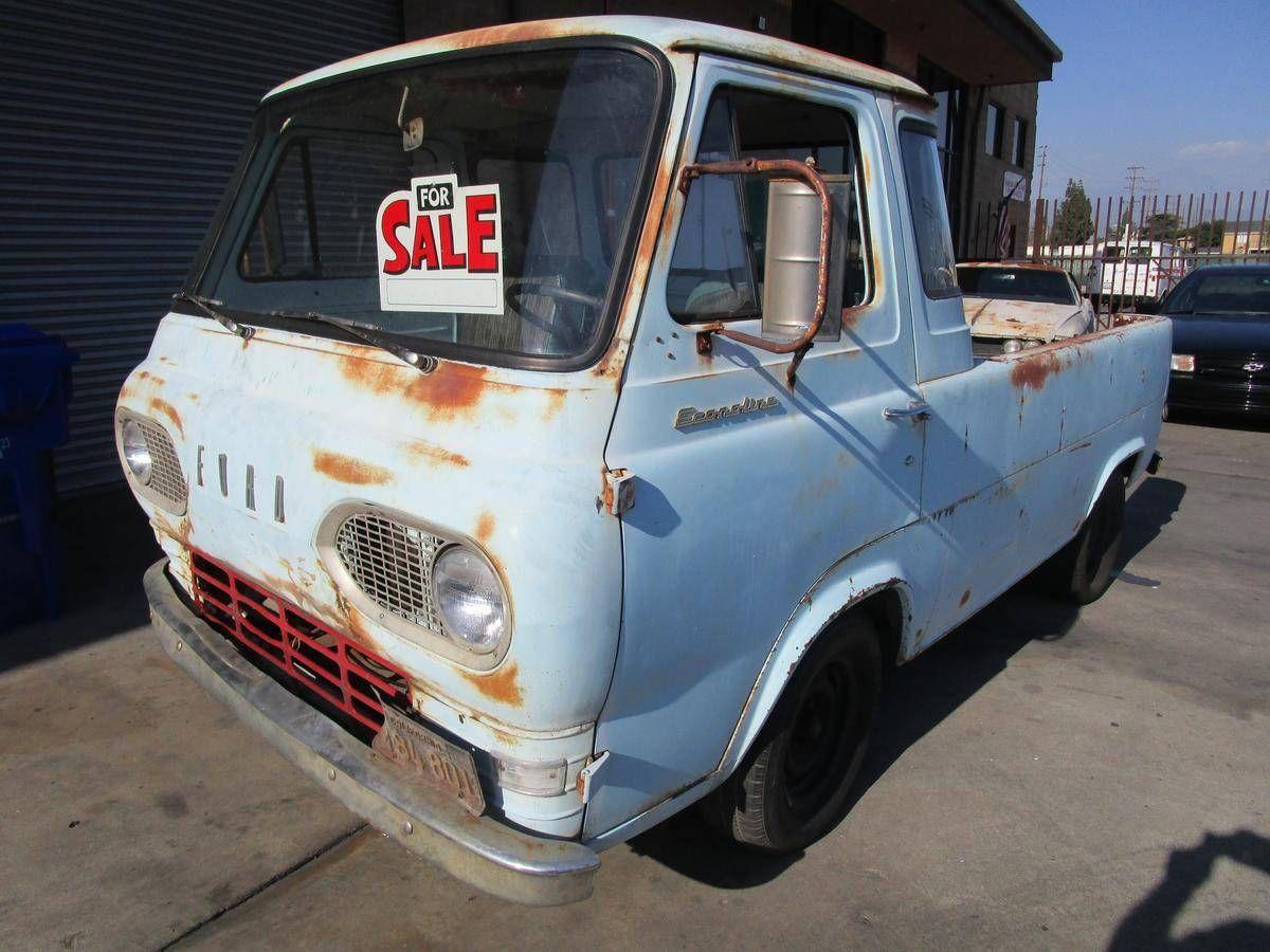 Sell new 1963 Ford Econoline Pickup Truck / Rare E100 Ford ...  Ford Econoline Pickup Trucks