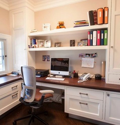 Home Office Design And Layout Ideas_08 Offices Pinterest