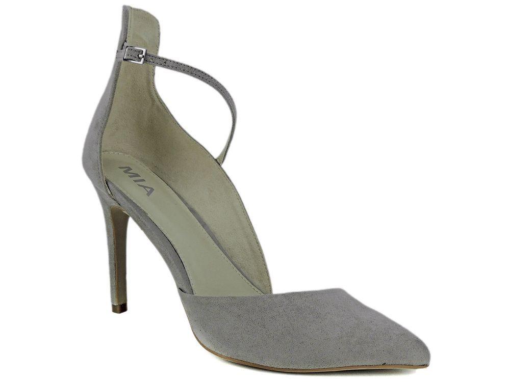 6e12dd17406db MIA Women's Mona Dress Pumps Gray Nova Faux Suede Size 8 M #MIA  #PumpsClassics #Dress