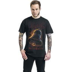 Ac/dc Hells Bells Herren-T-Shirt – schwarz – Offizielles Merchandise