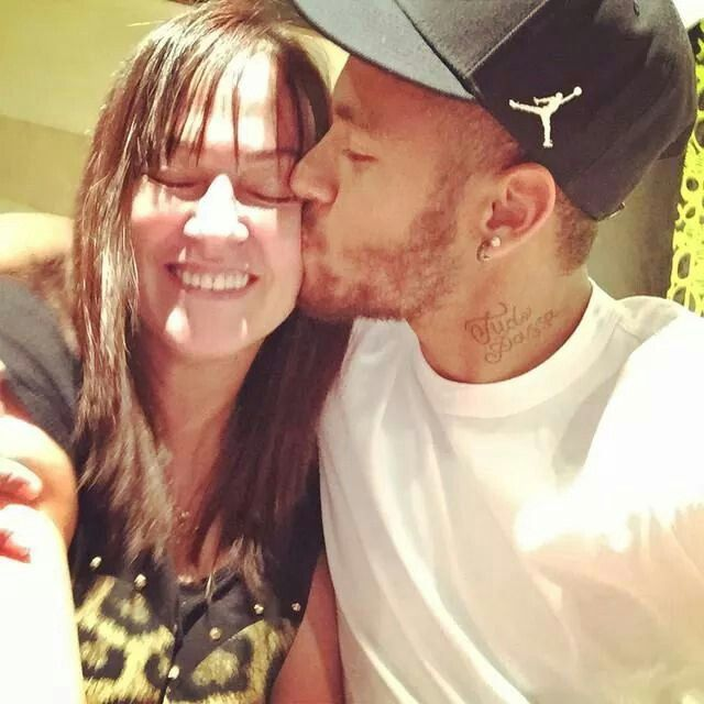 Neymar His Mom Nadine Jan 19 Is Her Birthday With Images