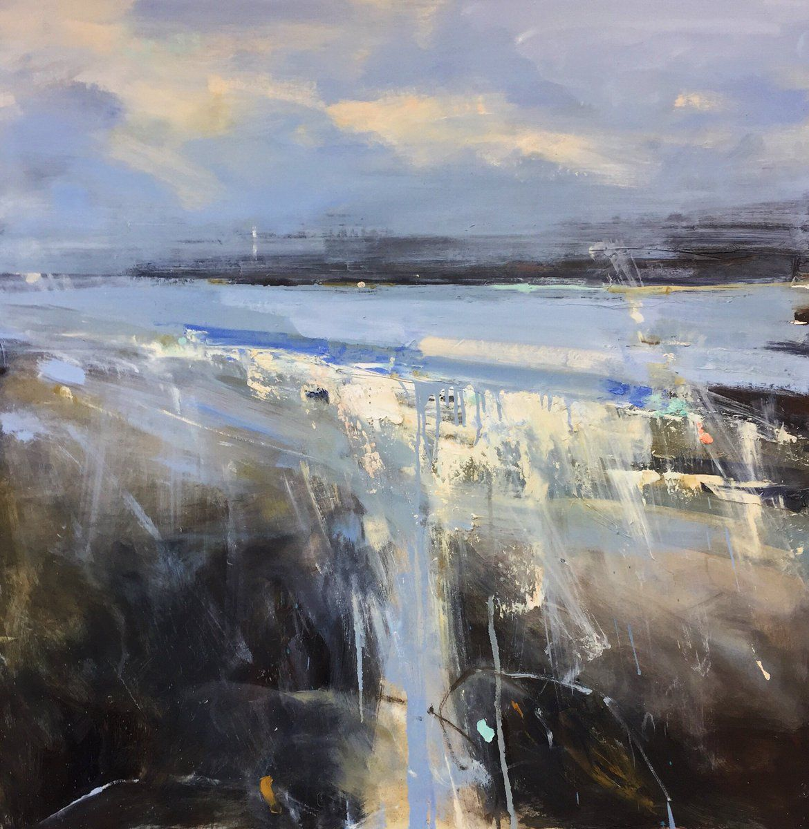 Hannah Woodman Hannahwoodman68 Twitter Abstract Landscape Painting Contemporary Landscape Artists