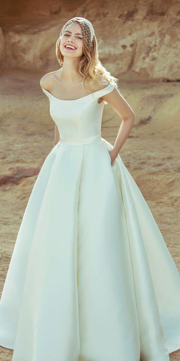 24 Excellent And Elegant Silk Wedding Dresses | Ellis bridal ...