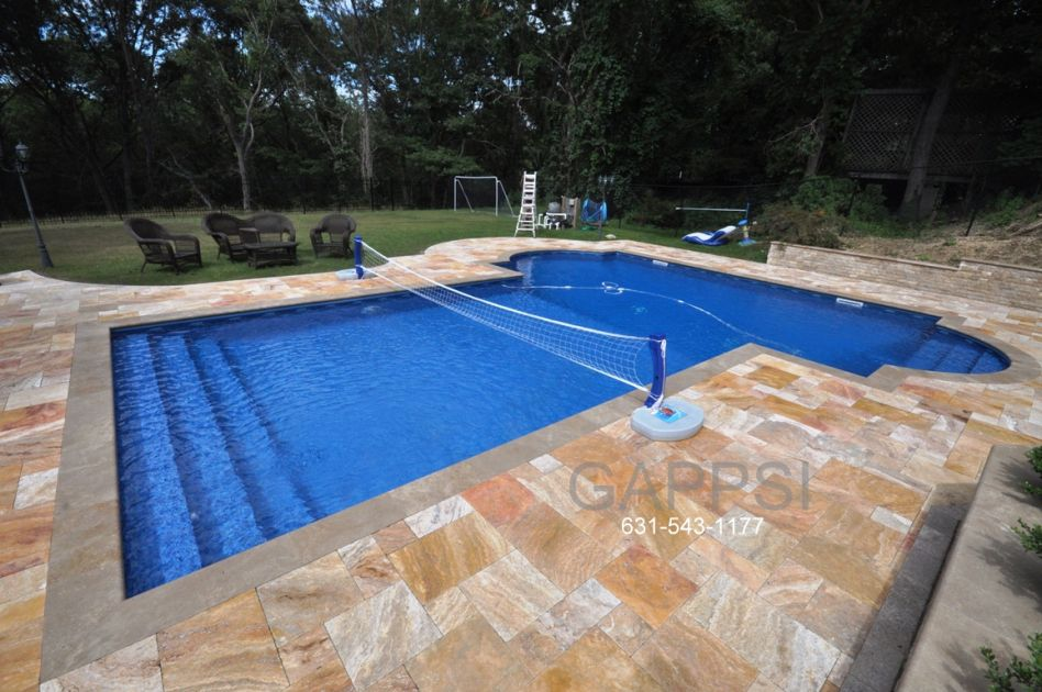 Unique Attractive Functional T Shape Pool Design By Gappsi