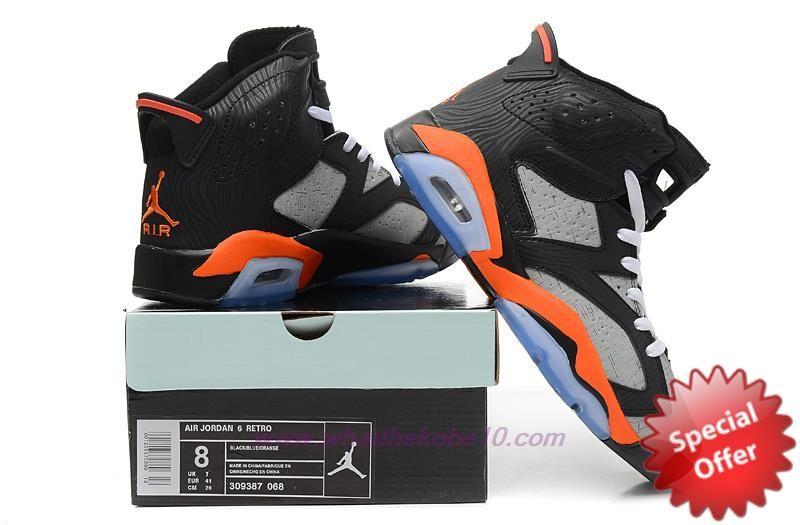 jordan 6 orange and black