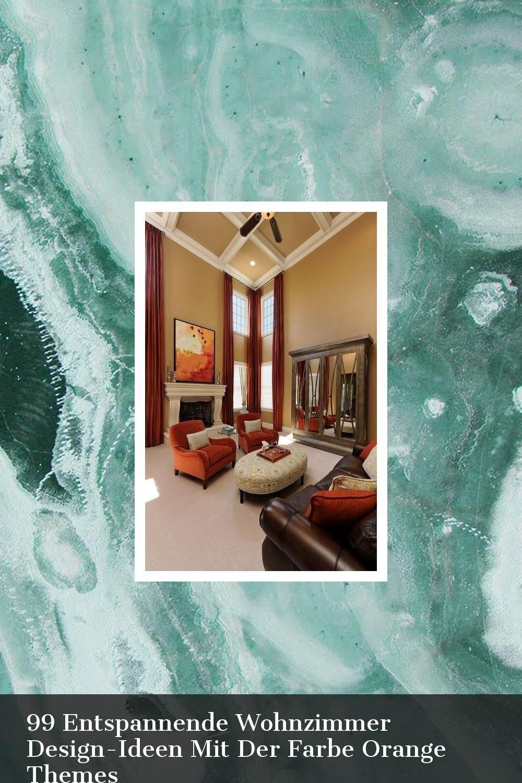 99 Entspannende Wohnzimmer Design-Ideen Mit Der Farbe ...